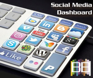 2014 NAB Show Social Media Dashboard Statistics Analytics