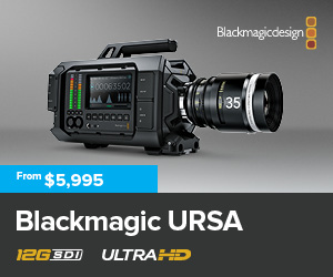 Blackmagic Design URSA UltraHD Camera