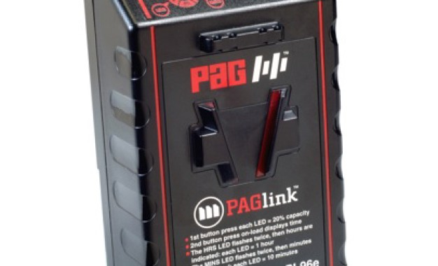 Manios Digital & Film Showcase PAGlink Batteries at #NABShow