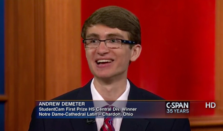 Andrew Demeter: New Media, New Possibilities – Teen Political Coverage & IBC 2014