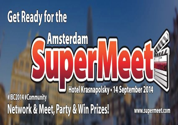Don't Miss The Seventh Annual Amsterdam SuperMeet on September 14th!