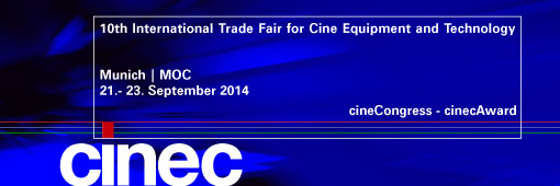 cinec 2014: Three days filled with technology, discussion and creativity!