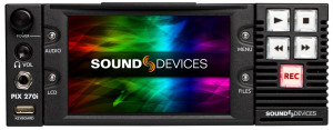 Sound Devices PIX 270i - front panel
