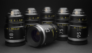 Schneider-Kreuznach Group's Cine-Xenar III (Set of Six) lensenset