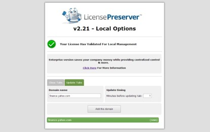 LicensePreserver Hits Chrome Store to Help Organizations Stretch Valuable Shared Software Licenses