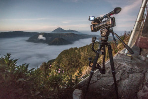 Shooting with the Miller Air Tripod System at the Ambrym Volcano - 3