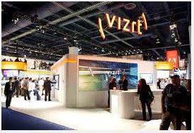 Vizrt và Video Wall - NAB Hiển thị tin tức của Broadcast Beat  Đài