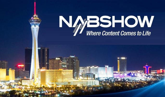 2015 NAB Show is in Las Vegas and run by the National Association of Broadcasters