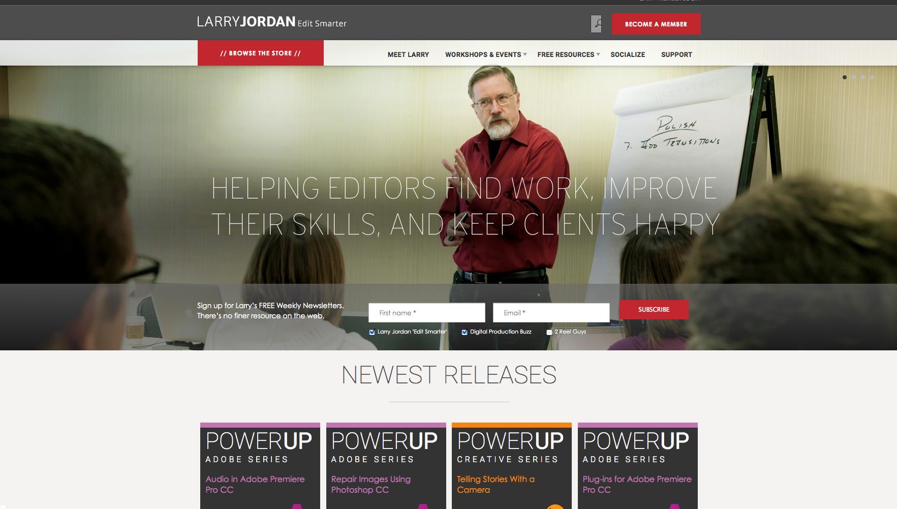 LarryJordan.com