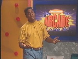 Phil Moore, Host of Nickelodeon Arcade