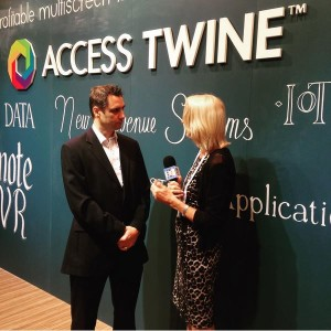 Access Sales Director Vincent Duval talking about Intel and AccessTwine