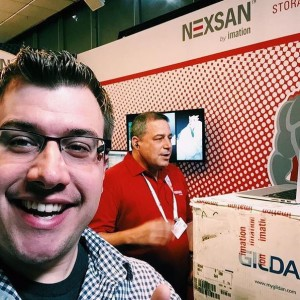 Chris Witmayer crashing our interview with Seth Cohen of Nexsan