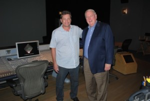 Post Haste Digital Owner and President Allan Falk (Left) and Larson Studios CEO and President Rick Larson (Right)