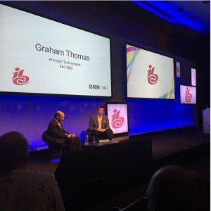 Graham Thomas at BBC R&D Seminar