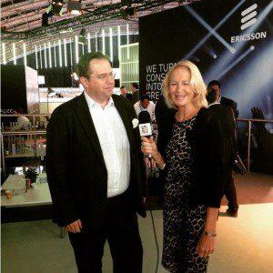 Ericsson က၏အသံလွှင့် Thorsten Sauer ၏ဦးခေါင်းကို Channel ကို 5 အကြောင်းကိုပြောသော