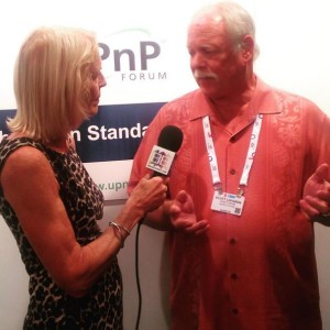 Scott Lofgren of upnp talking to Janet about improving The Internet Of Things