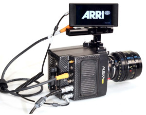 The StarliteHD5 ARRI mounted on the ARRI ALEXA Mini camera