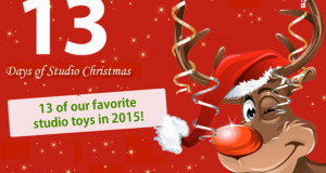 13 days of studio christmas