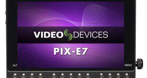 Video Devices PIX-E7, Front