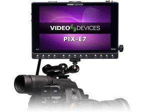 Périphériques vidéo PIX-E7, sur caméra