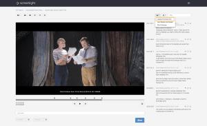 Export feedback from Screenlight