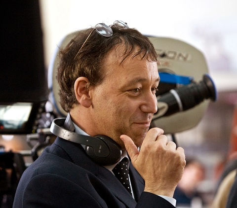 """Writer/director SAM RAIMI on the set of his return to the horror genre, an original tale of a young woman's desperate quest to break an evil curse--""""Drag Me to Hell."""""""