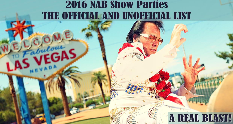 NAB Show Parties