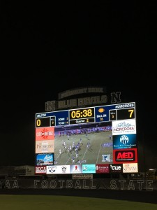 Pro Presenter Scoreboard from Renewed Vision in action at Norcross High School in Georgia