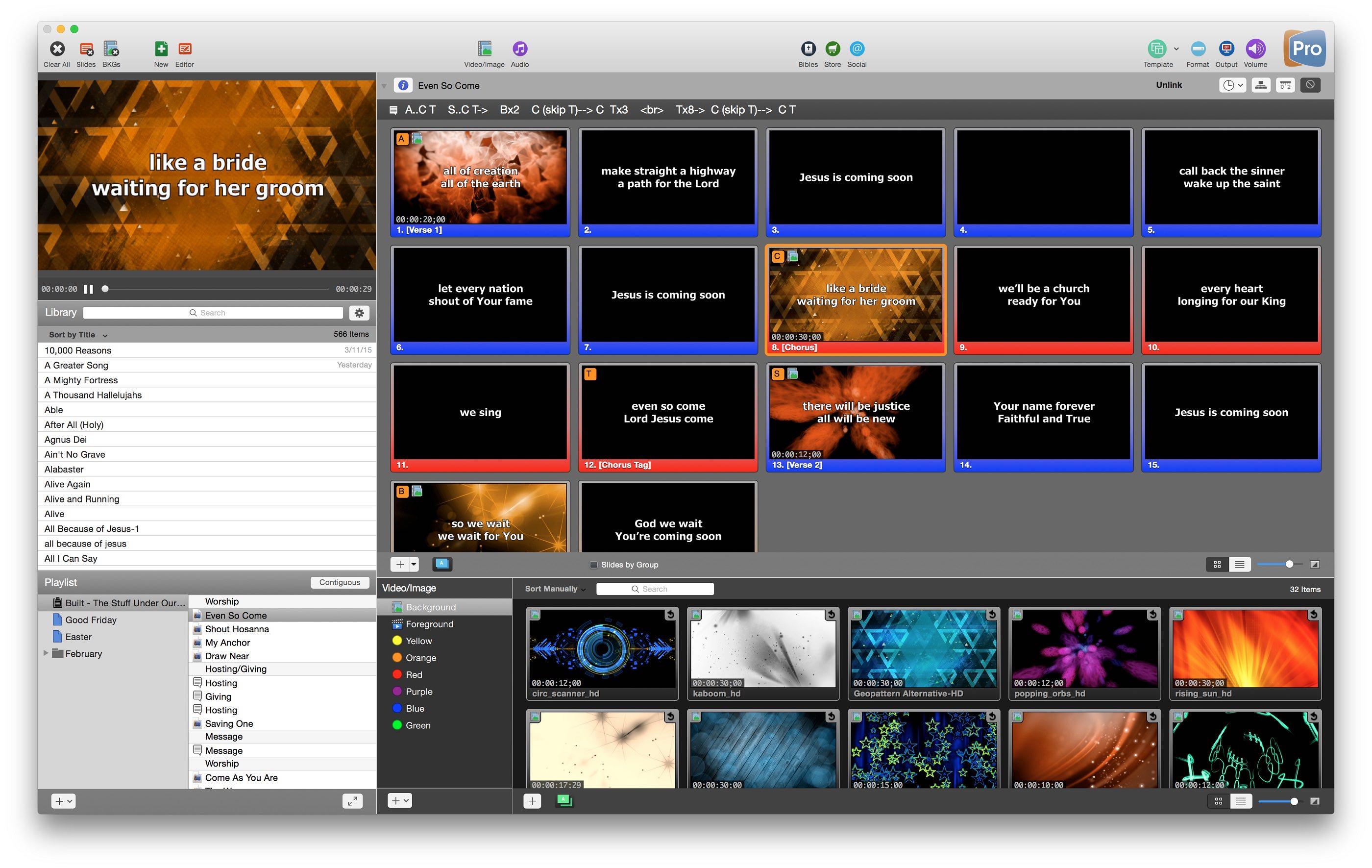 Renewed Vision Unleashes ProPresenter 6 Live Presentation Software ...