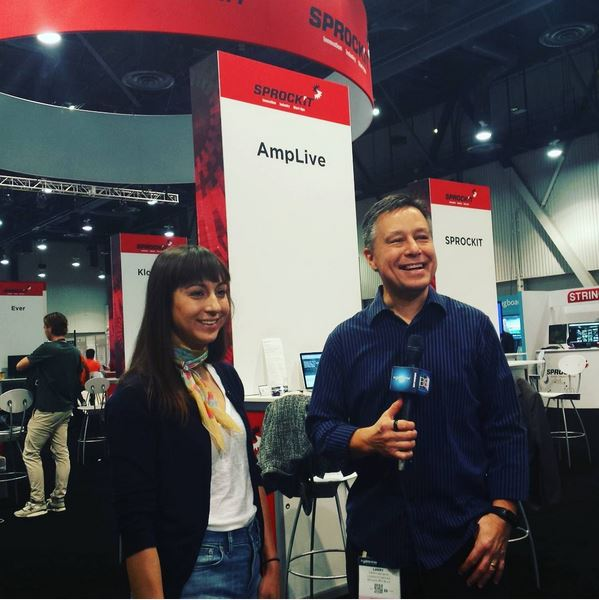 Joanna Dorfman from AmpLive, interviewed by our very own Larry Becker