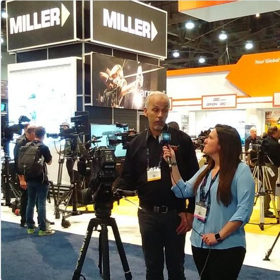 Miller Camera Support with Mark Clementson