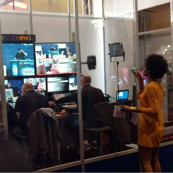 NAB Show Studio Control Room