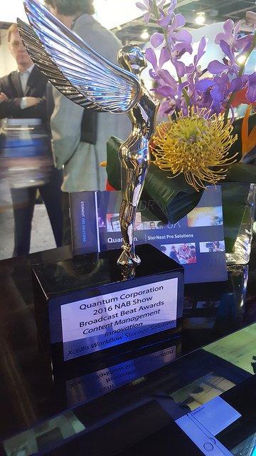 Quantum's Broadcast Beat Award