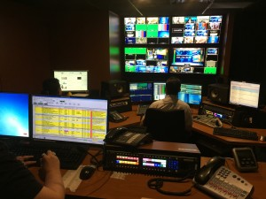 Automated control room at WAPA-TV