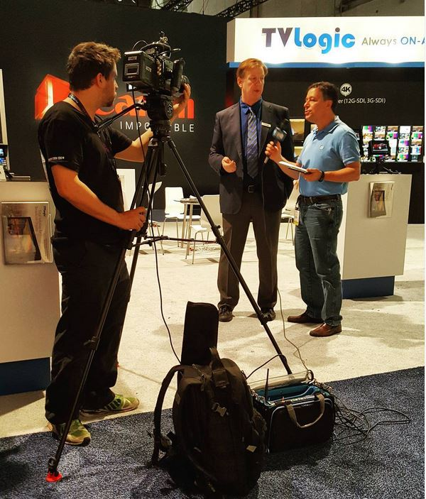 Wes Donahue, TVLogicUSA Mktg Dir, talks 4K monitors
