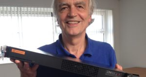 Jan de Wit, CEO of Ardis Technologies with a microDDP