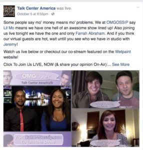 OMGOSS!P Airs Weekly on Facebook Live