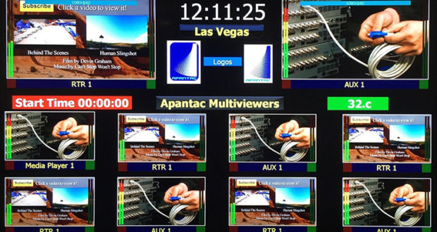 Apantac Mi-16 Multiviewer Display