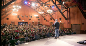 Director Teddy Grennan opens SVFF to huge crowd in Ketchum