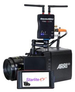 De-new-Transvideo-StarliteRF-a-Wireless-Iwwerwaachung-mat-gebauter Fernsteuerung vun de ARRIs-ALEXA-Mini-an-AMIRA Kameras