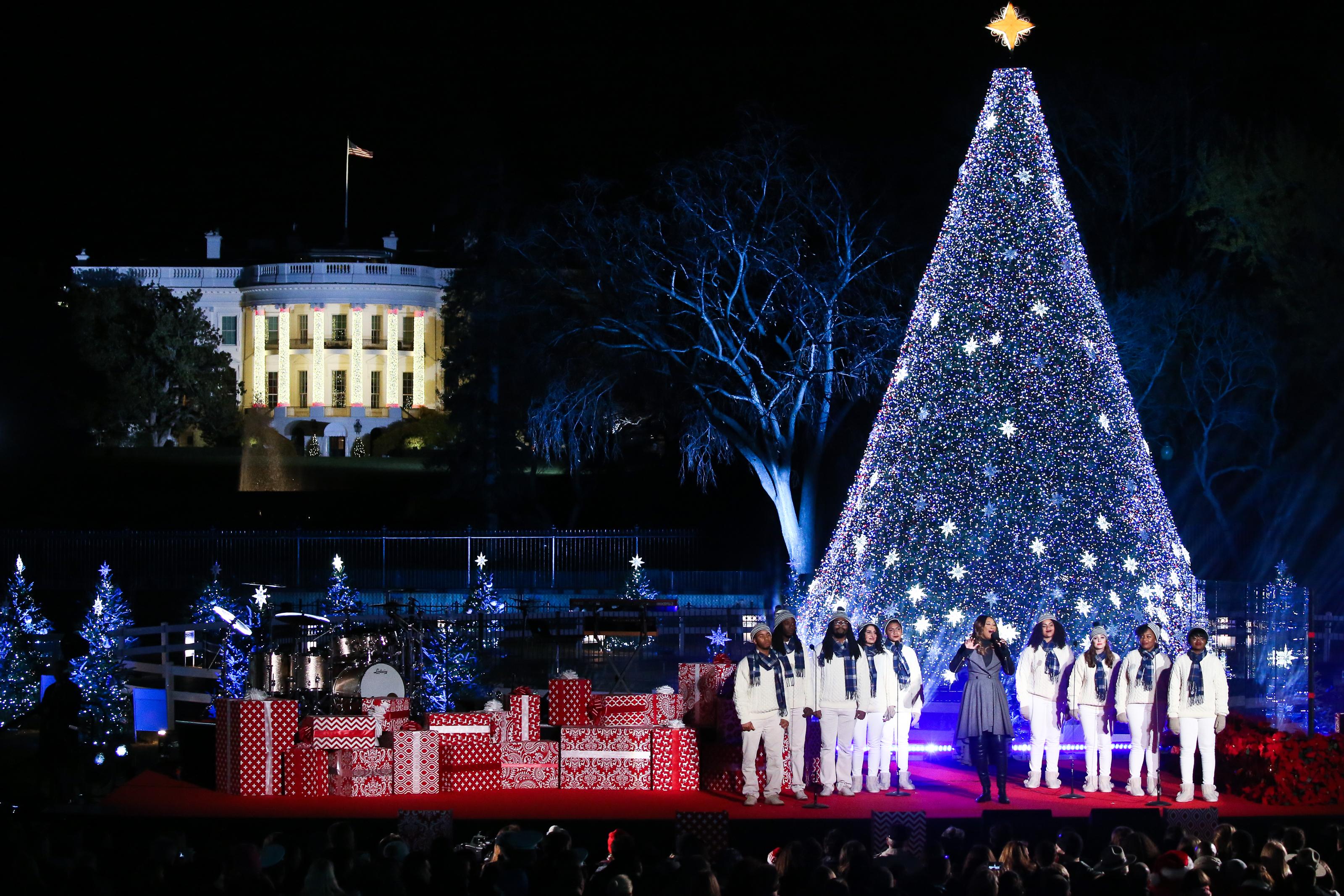 photo credit 2016 national christmas tree lighting at presidents parkpaul morigi for the