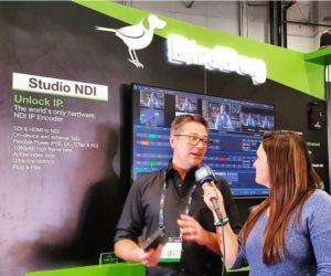 Dan Miall, CEO, bird_dog_gear, & converting video to an NDI IP signal