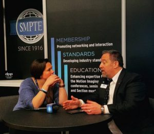 Matthew Goldman, President of smpteconnect, &new SMPTE IP standards