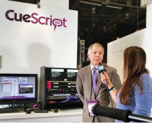 Michael Accardi, President of cue_script.tv teleprompters