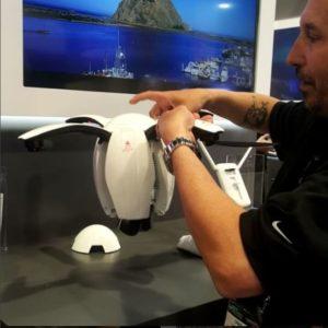 PowerVision PowerEgg drone me ka 4K pahupaʻiwikiō