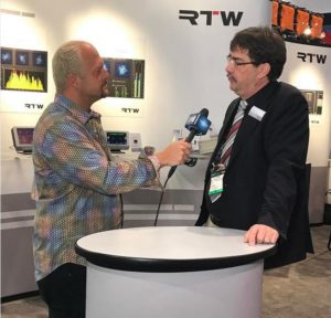 Ryan at RTW with Mike Kahsnitz, Head of Product Management