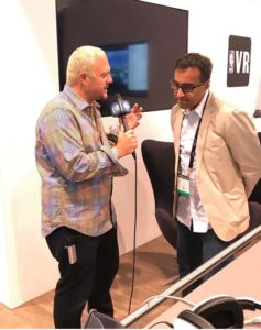 Ryan interviewing Amit Chopra, CEO, Digital Domain