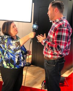 We are at Verizon Digital Media Services where Janette is interviewing Jason Friedlander, Director of Marketing Communications.