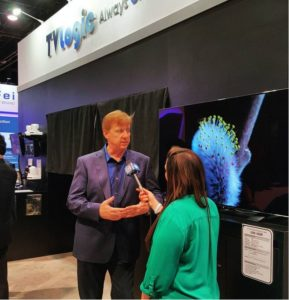 Wes Donahue, director of sales at TVLogic, explains why OLED is better than an LCD display