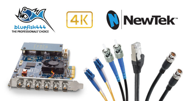 Bluefish444 NewTek 4K Integration